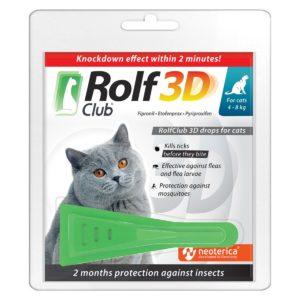 Капли для кошек Rolf Club 3D